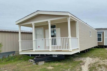 Champion Lake House CS1640A Mobile Home Exterior