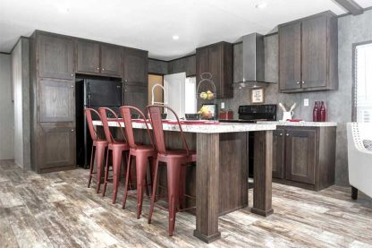 Kitchen in Jessup Lincoln Mobile Home For Sale in Oklahoma