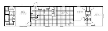 Jessup Smart Value 76 Mobile Home Floorplan
