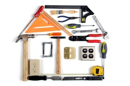 Image of mobile home maintenance and tools