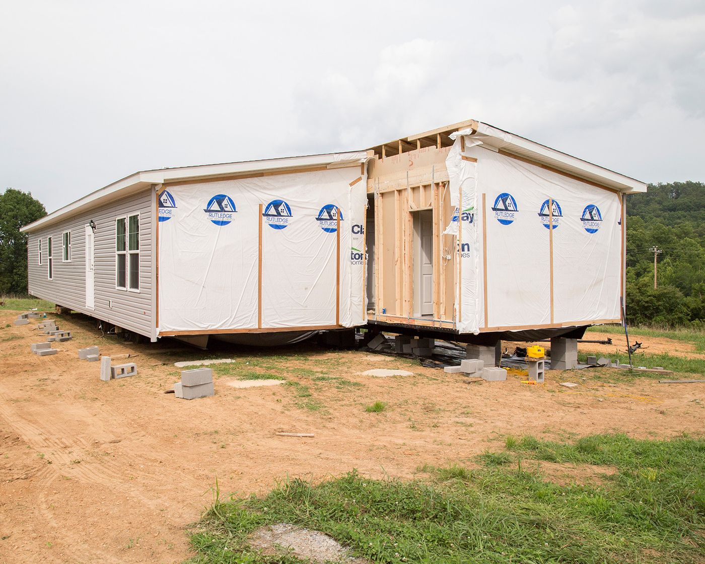 Setting up a mobile home in Texas